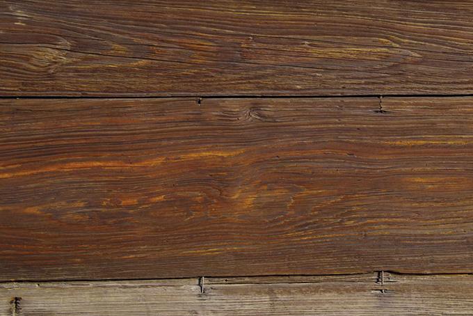 茶色い古い板